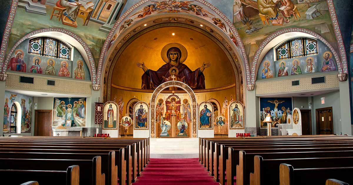 Orthodox Church Nave